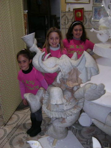 Visita al monumento infantil