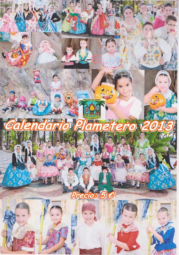 Calendario Plametero 2013