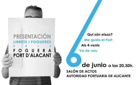 Bocetos y Llibrets 2014 Foguera Port d'Alacant