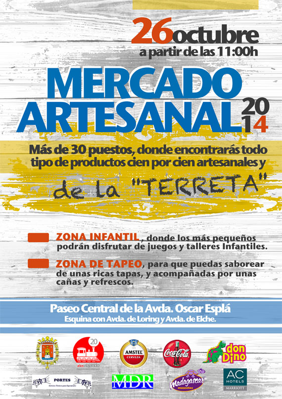 Mercado Artesanal en Hoguera Avd. de Loring-Estación
