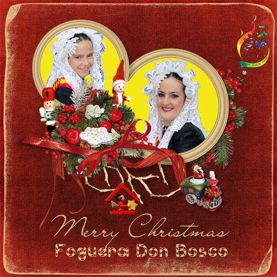 Felicitación Hoguera Don Bosco