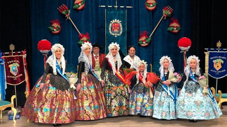 La foguera Altozano Sur proclama a sus Bellezas y Damas de Honor 2019